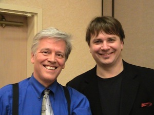 Norm with Scott Alexander from America's Got Talent at the SAMCON - Society of American Magicians Convention in Boston